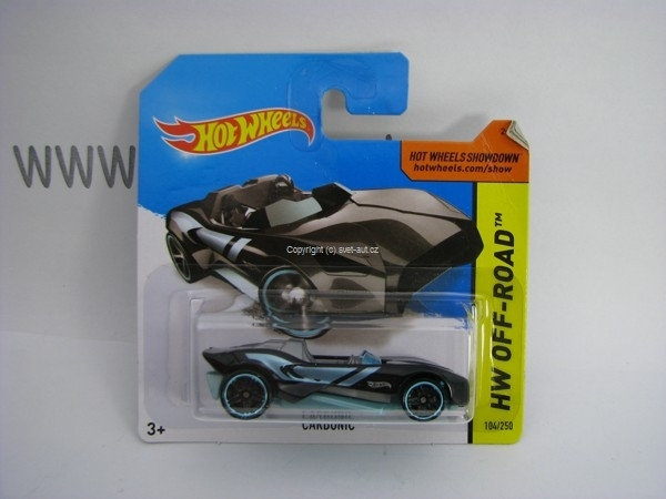 Hot Wheels 2014 Carbonic HW Off-Road 5785 104/250